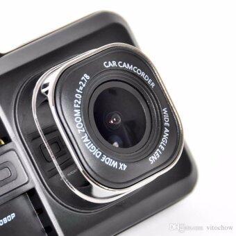 FHD กล้องติดรถยนต์ WDR และ Parking Monitor บอดี้โลหะ จอใหญ่ 3.0นิ้ว เมนูไทย รุ่น T626SE (เวอร์ชั่น3) ถ่ายกลางคืนสว่างกว่าเดิม (Black) - มีคลิปวีดีโอรีวิว เปรียบเทียบกับรุ่นอื่น (image 4)