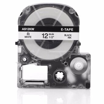 Fimax 1 Piece compatible Epson/King Jim ss12kw lc-4wbn 12mm blackon white label tape for epson lw300 lw400 printer - intl