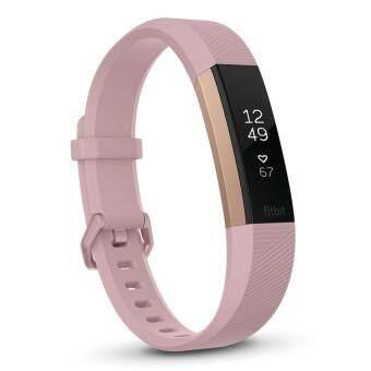 สายรัดข้อมือเพื่อสุขภาพ Fitbit Alta HR rose gold Small รับประกันศูนย์ 1 ปี