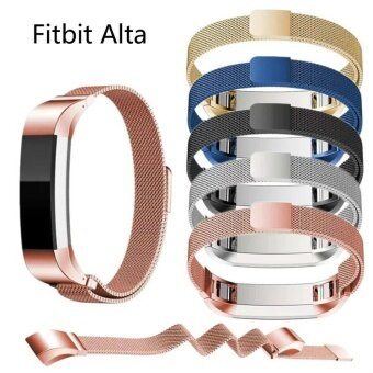 Fitbit Alta HR smart wristband, Milan nice watch band, magneticsuction Wristband - intl