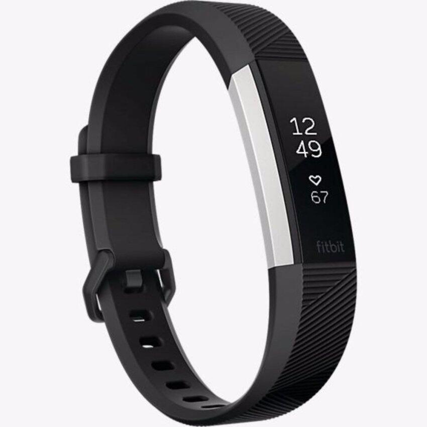 Fitbit Alta,HR Black สายรัดข้อมือ เพื่อสุขภาพ สีดำ ไซด์ SMALL รับประกันศูนย์ 1 ปี