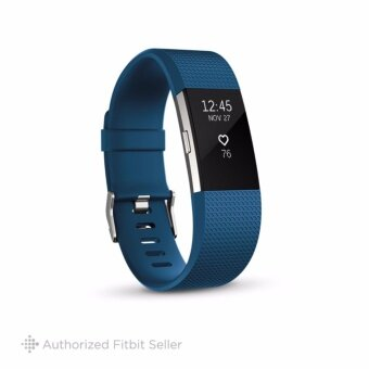 FITBIT CHARGE 2 BLUE SILVER SMALL