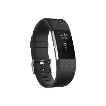 Fitbit Charge 2 Heart Rate Fitness Wristband Small Black - intl