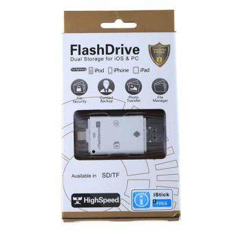 flash 5G All in 1 i-Flash Drive Lightning Micro USB TF SD CardReader For Iphone 5/5S/5C/6 6S 7 Plus ipod ipad IOS Andriod VAH73T0.4 การ์ดรีดเดอร์ แฟรชไดร์ - 4
