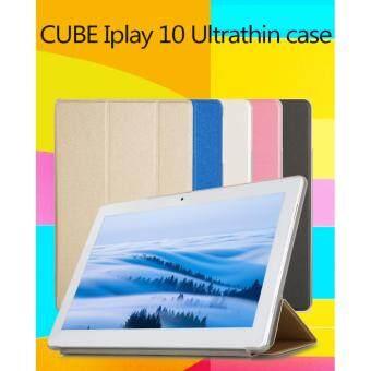 Flip case รุ่น AlldoCube (Cube) iPlay10 / U83 (สีดำ) Ultra thin PULeather