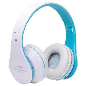 ขายด่วน Foldable Wireless Bluetooth Stereo Headset Hands-free Headphone Mic TF Card E - intl