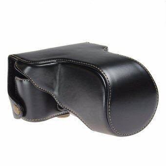 For Fuji กระเป๋ากล้อง Leather Case for Fujifilm X-A3 (BLACK)