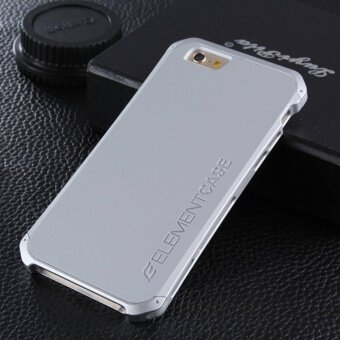 For iphone 6plus 6splus Case Luxury Ultra thin Element FashionMetal Aluminum Cell Phone Cases Mobile Back Cover - intl