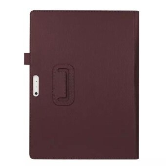 For Microsoft Surface Pro 4 12.3 Tablet Leather Case Cover StandBrown - intl