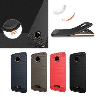 For Motorola Moto Z Play Anti-Wrestling Carbon Fiber Shell HighQuality - intl