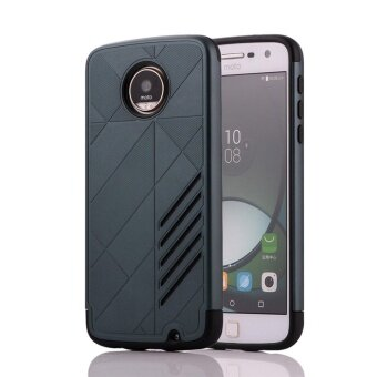 for Motorola MOTO Z Play [Split Joint] PC + TPU Hybrid Cell PhoneBack Case