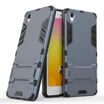For VIVO Y51 Armor Hybrid Rugged Rubber Protective with KickstandPhone Cover Case - intl