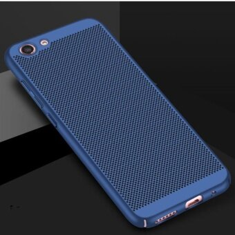 For Vivo Y53 Ultra Thin Fashion Hollow Case Heat Dissipation Shockproof PC Matte Mesh Anti-fingerprint Phone Case - intl