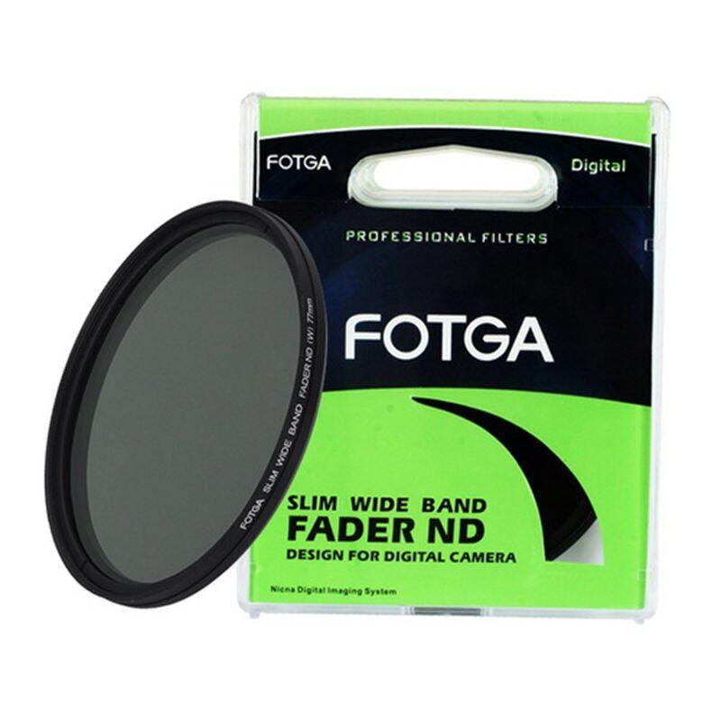 FOTGA 67 mm Fader Variable ND Slim filter Adjustable ND 2 to ND 400Neutral Density