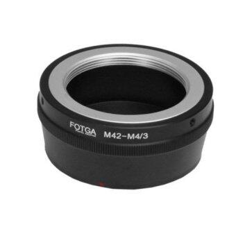 Fotga Adapter for M42 Lens to Panasonic Olympus Micro 4/3 M4/3Camera (Black)