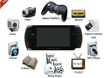 Free 10000+ Games 8G MP5 Player 4.3inch Game Console