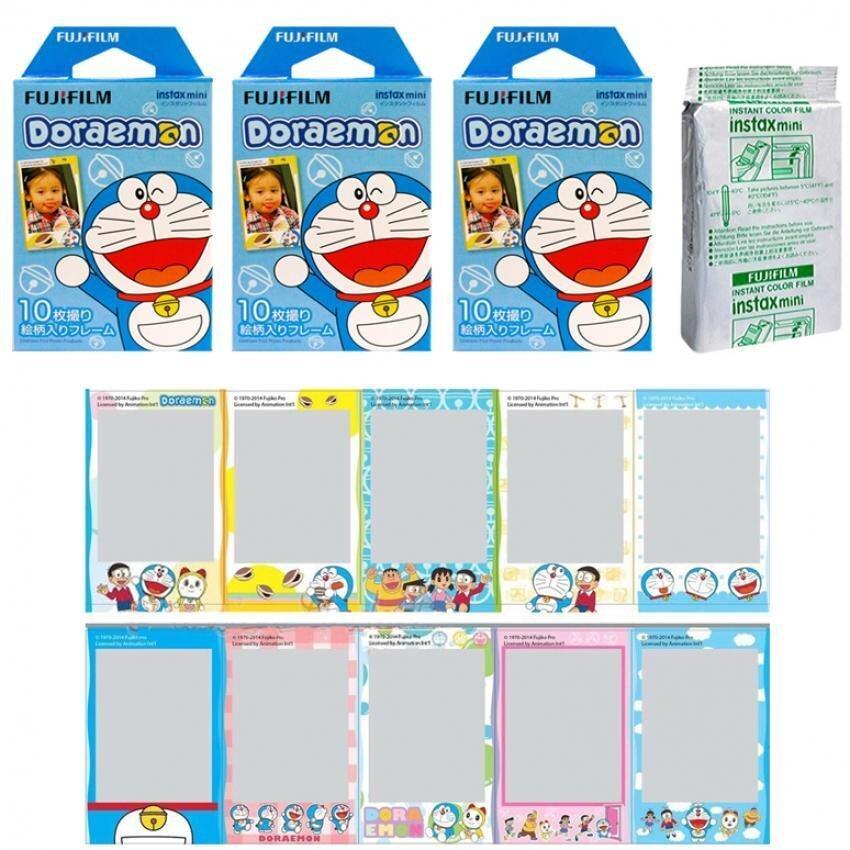 Fujifilm Instax Mini Doraemon HK Instant 30 Film for Fuji 7s 8 25 50s 70 90/ Polaroid 300 Instant Camera/ Share SP-1 – intl