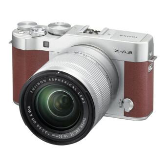 Fujifilm X-A3 Mirrorless 16-50mm Lens (Brown)(ประกันศูนย์)