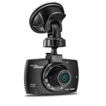 กล้องติดรถยนต์ Full HD 1080P กล้องมองหน้า+จอแสดงผล LCD รุ่น L701Car Camcoder Camera DVR (Black)