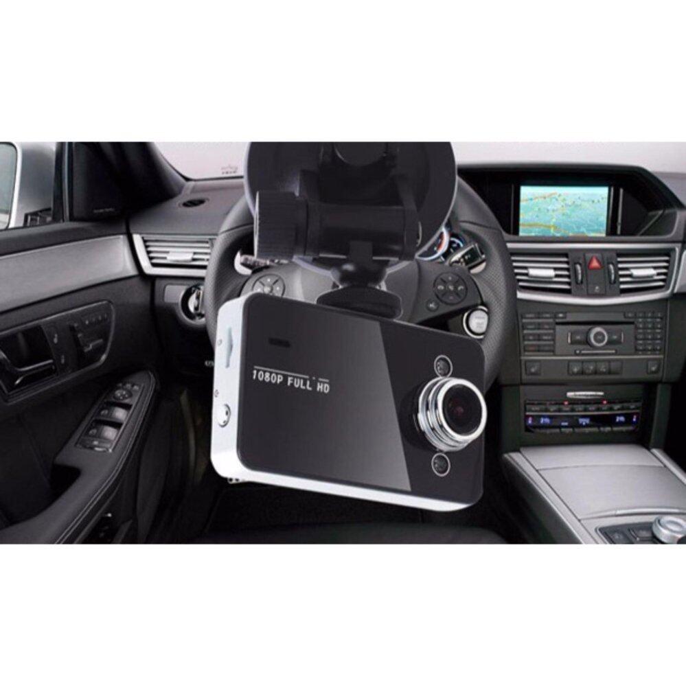 กล้องบันทึกวีดีโอ Full HD ติดกระจกหน้ารถ Vehicle Blackbox DVR-K6000