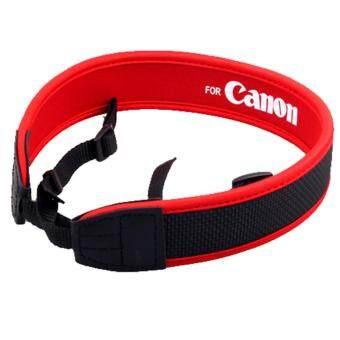 G2G สายคล้องกล้อง For Canon แบบนิ่ม Neoprene สีแดง จำนวน 1 ชิ้น