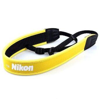 G2G สายคล้องกล้อง For Nikon แบบนิ่ม Neoprene สีเหลือง จำนวน 1 ชิ้น