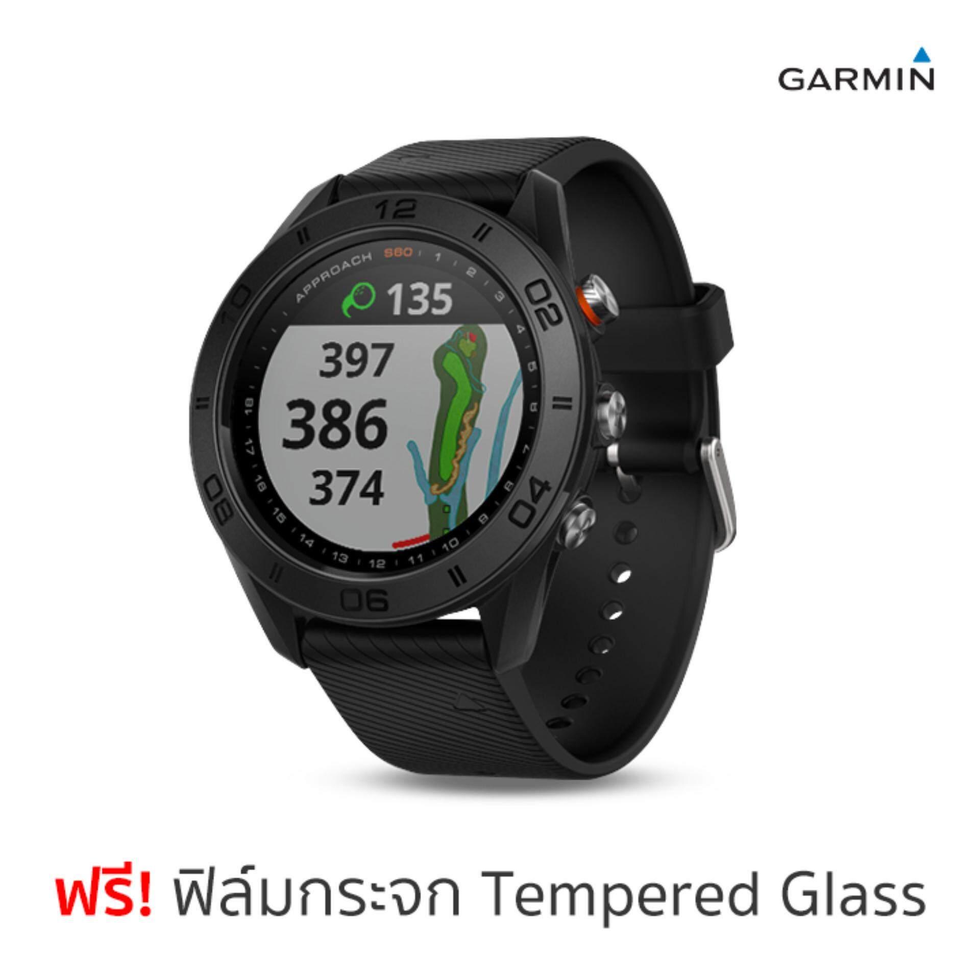 การใช้งาน  กำแพงเพชร Garmin Approach S60 นาฬิกานักกอล์ฟ GPS (ดำ) ฟรีฟิล์มกระจกกันรอย ประกันศูนย์ไทย 1 ปี