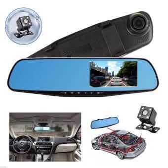 Gateway กล้องติดรถยนต์ กระจกกล้องหน้า/หลัง รุ่น HW-500 FULL HD1080สีดำ