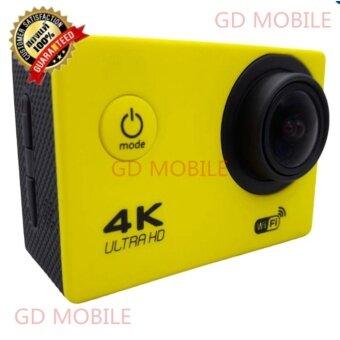 GD MOBILE 2017 กล้องกันน้ำ ถ่ายใต้น้ำ พร้อมรีโมท Sport camera Action camera 4K Ultra HD waterproof WIFI FREE Remote BLACK {ของแท้} JX 100% ของแท้เท่านั้น
