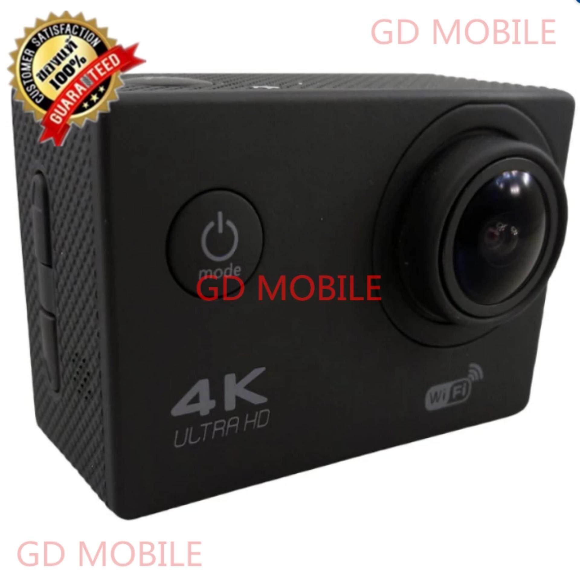 GD MOBILE กล้องกันน้ำ Action Camera HD 2 4K ULTRA HD wifi JX 100% ของแท้เท่านั้น