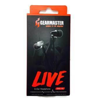ราคา GearMaster GMS-100 BLUE (LIVE) Microphone and Volume Controls In-Ear PC and Music Analog Gaming Headset