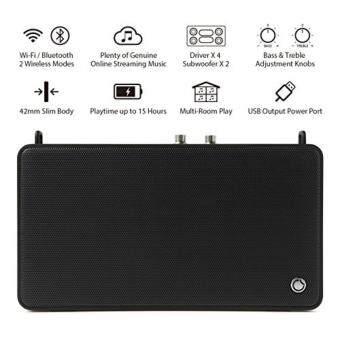 GGMM ลำโพง บลูทูธ Bluetooth Speaker E5 (ฺBlack)