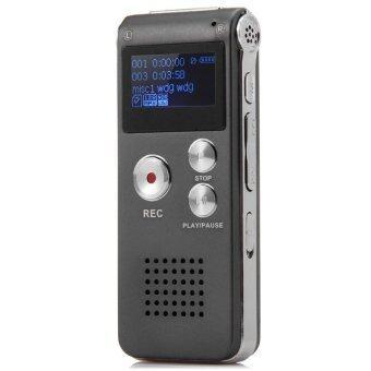 GH 609 Professional 2 in 1 8GB Digital Voice Recorder (Gray) (Intl)