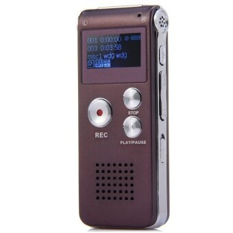 GH 609 Professional 2 in 1 8GB Digital Voice Recorder (Purple)\n(Intl)