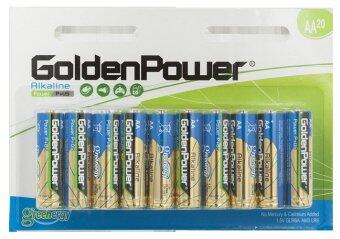 GoldenPower Alkaline Battery AA20