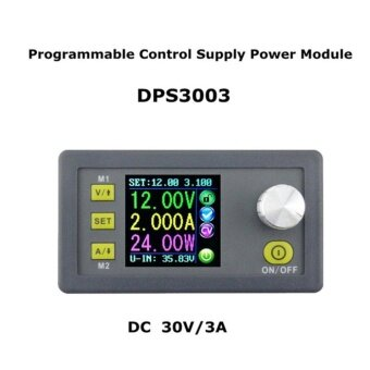 GOOD DPS5005 Communication Function Constant Voltage Step-down Power Supply Module Grey - intl