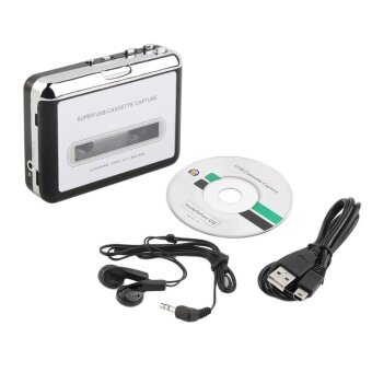GOOD Tape To Pc Super Usb Cassette-To-Mp3 Converter Capture Audio Music Player New - intl