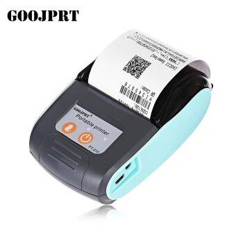 GOOJPRT PT - 210 58MM Bluetooth Thermal Printer Portable Wireless Receipt Machine for Windows Android iOS - intl