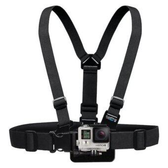 Gopro accessories Adjustable Elastic Body Harness Chest Strap Mount Band Belt for Go Pro Hero 4