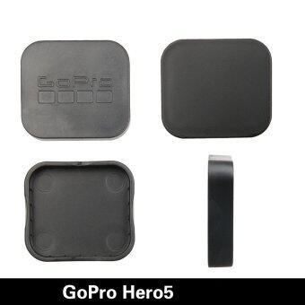 Gopro Hero 5กล้องอุปกรณ์เครื่องป้องกันร้อนขายฝาครอบเลนส์เคสสำหรับมืออาชีพไปHero 5 อุปกรณ์ (สีดำ) (image 0)