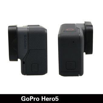 Gopro Hero 5กล้องอุปกรณ์เครื่องป้องกันร้อนขายฝาครอบเลนส์เคสสำหรับมืออาชีพไปHero 5 อุปกรณ์ (สีดำ) (image 3)