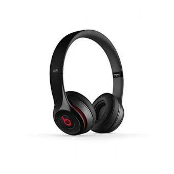 Harga GPL/ Beats Solo 2 Wired On-Ear Headphone - Black (CertifiedRefurbished)/ship from USA - intl
