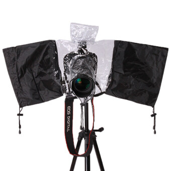 Hang-Qiao Camera Waterproof Rain Cover (Black/White)
