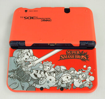 Hard Shell Case Cover Protective Case for Nintendo NEW 3DS LL 3DS XL Super smash bros red - intl