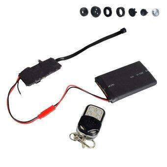 HD 1080P DIY Module SPY Hidden Camera Video DVRButtonsDisguise+Remote Control - intl
