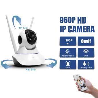 HD 960P เว็บแคม CCTV WIFI P2P Onvif IP Camera Cam