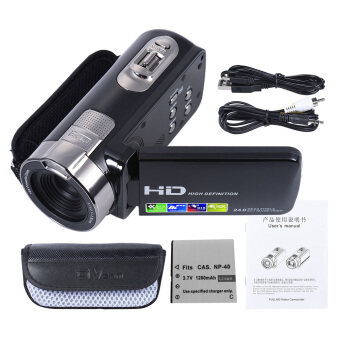 HDV-302P 3.0 Inch LCD Screen Full HD 1080P 15FPS 24MP 16X DigitalZoom Anti-shake Digital Video DV Camera Camcorder Outdoorfree -intl