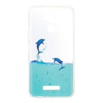Hicase TPU Silicone Gel Soft Case Cover for Asus Zenfone 3 Max ZC520TL 5.2 - dolphin - intl
