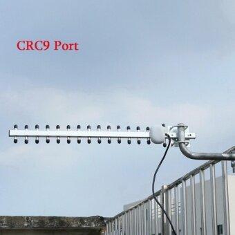 โปรโมชั่นพิเศษ High Gain 28dBi CRC9 Plug 4G 696-960MHz / 1710-2690MHz Yagi Antenna- intl