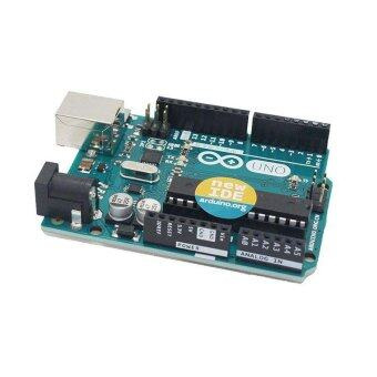 High Quality Microcontroller Blue Microcontroller UNO R3 ImprovedVersion ATmega328 for Compatible Arduino NEW - intl